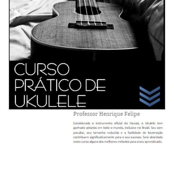 Imagem principal do produto Curso Prático de Ukulele