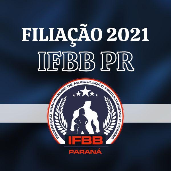 Imagem principal do produto Filiação IFBB PR 2021