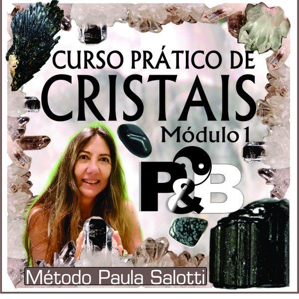 Imagem principal do produto Curso Prático de Cristais - Módulo 1 - P&B