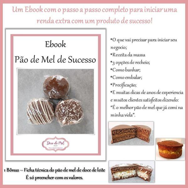 Imagem principal do produto Ebook Pão de Mel de Sucesso