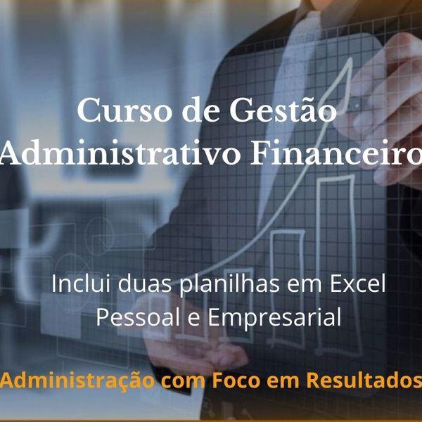 Imagem principal do produto Curso de Gestão Administrativo Financeiro