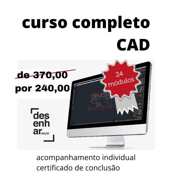 Imagem principal do produto Curso de Cad online da Escola Desenhar