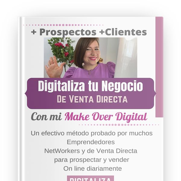 Imagem principal do produto Digitaliza tu Negocio de Venta Directa con mi Make Over Digital (NetWorkers)