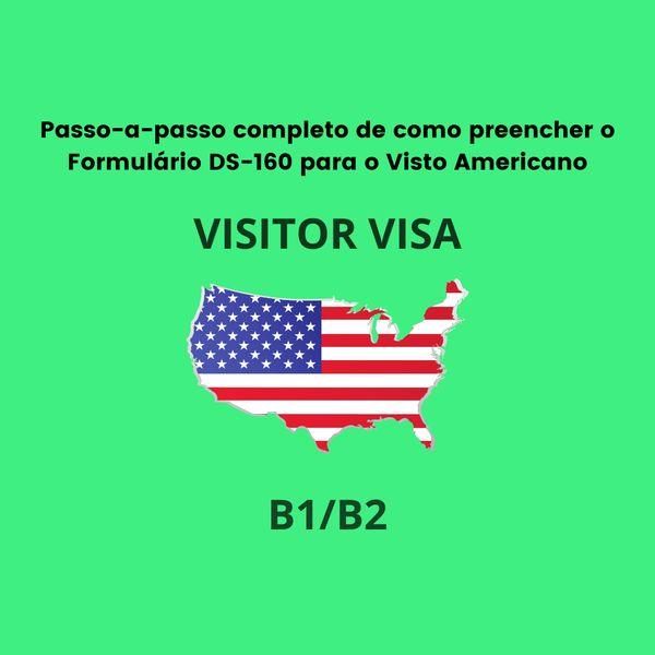 Imagem principal do produto Como tirar o Visto Americano de Turismo