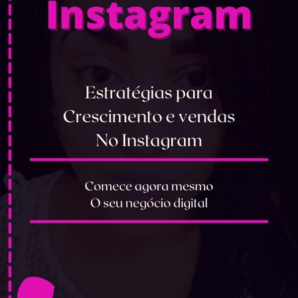 Imagem principal do produto Crescendo no Instagram