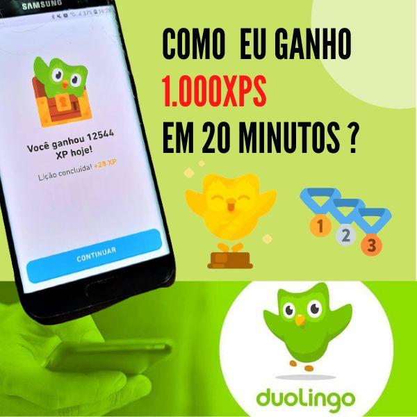 Imagem principal do produto Como ganhar muitas XPs no Duolingo