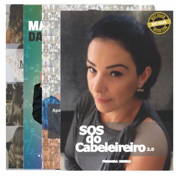Imagem principal do produto COMBO SOS do Cabeleireiro - 4 E-BOOKS
