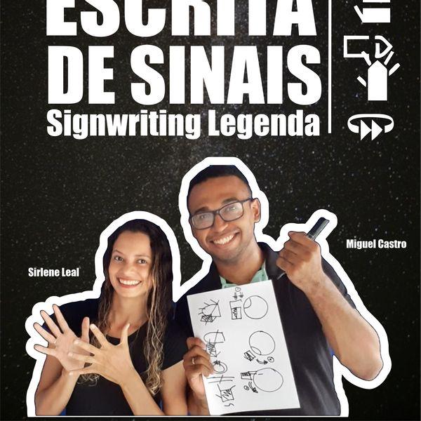 Imagem principal do produto Curso Escrita de Sinais SignWriting Completo