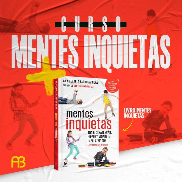 Imagem principal do produto Curso Mentes Inquietas + Livro Mentes Inquietas