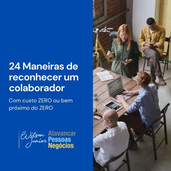 Imagem principal do produto 24 Maneiras de Reconhecer um Colaborador