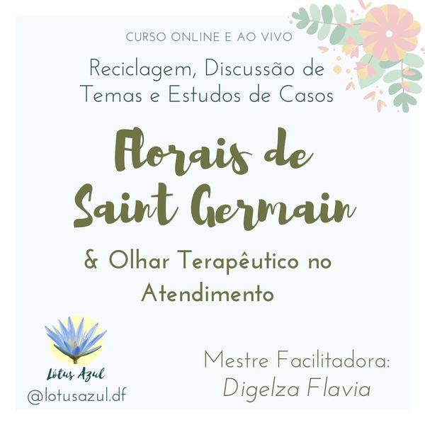 Imagem principal do produto Curso Avançado de Florais de Saint Germain - Reciclagem, Discussão de Temas e Estudo de Casos