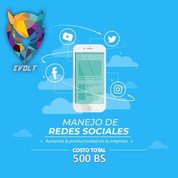 Imagem principal do produto GESTOR DE REDES SOCIALES