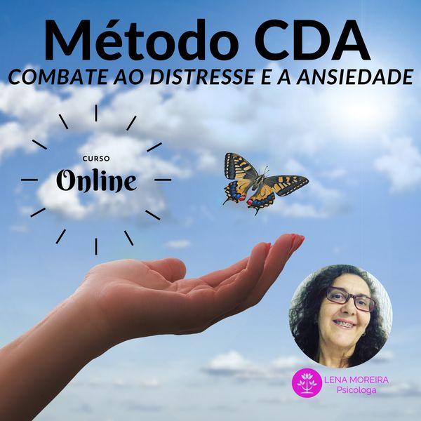 Imagem principal do produto Método CDA - COMBATE AO ESTRESSE E A ANSIEDADE