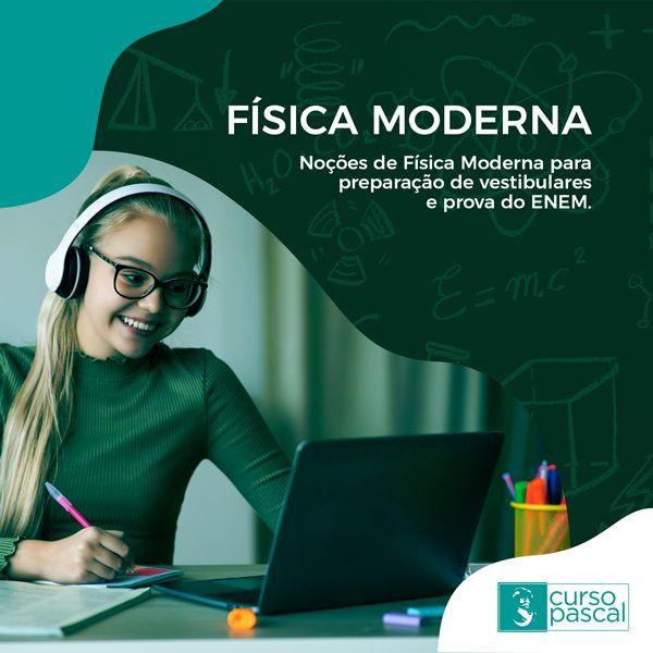 Imagem principal do produto FÍSICA MODERNA PARA VESTIBULAR E ENEM.