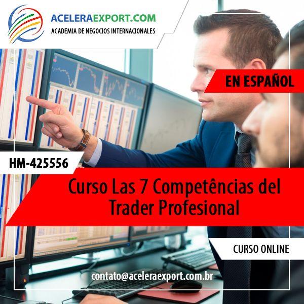 Imagem principal do produto Curso Las 7 Competencias del Trader Profesional | En Español