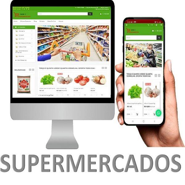 Imagem principal do produto APLICATIVO PARA SUPERMERCADO BÁSICO GRÁTIS SITE