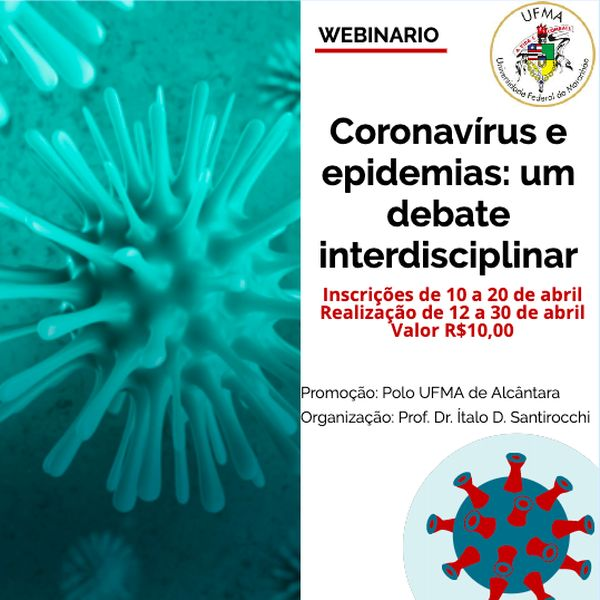 Imagem principal do produto Coronavírus e epidemias: um debate interdisciplinar
