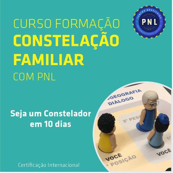 Imagem principal do produto Curso de Formação em Constelação Familiar com PNL