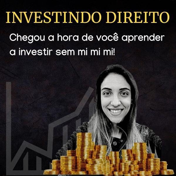 Imagem principal do produto INVE$TINDO DIREITO