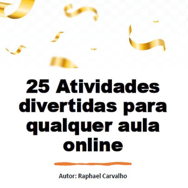 Imagem principal do produto 25 Atividades divertidas para qualquer aula online