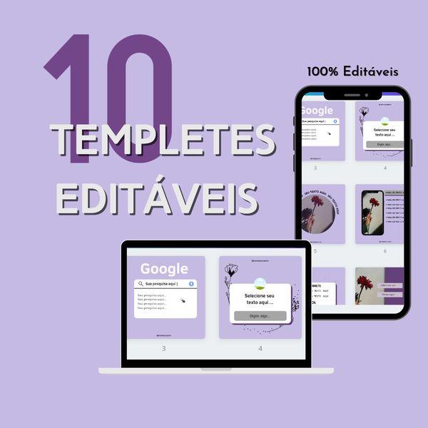 Imagem principal do produto Feed harmônico /10 templetes