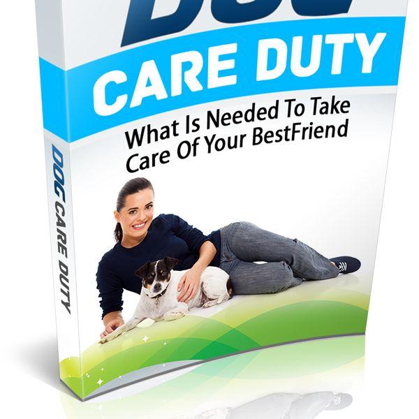 Imagem principal do produto Dever de cuidar do seu cão