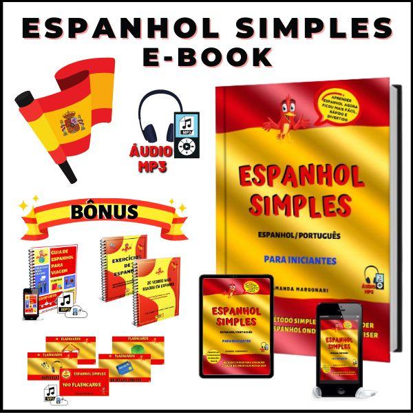 Imagem principal do produto ESPANHOL SIMPLES E-BOOK