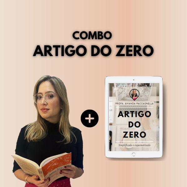 Imagem principal do produto (Combo) E-book Artigo do Zero + Minicurso Artigo do Zero
