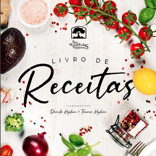 Imagem principal do produto E-book Receitas Saudáveis que Emagrecem | Spa Recanto das Figueiras