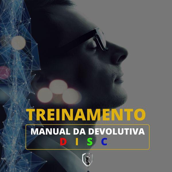 Imagem principal do produto Manual Completo da Devolutiva DISC