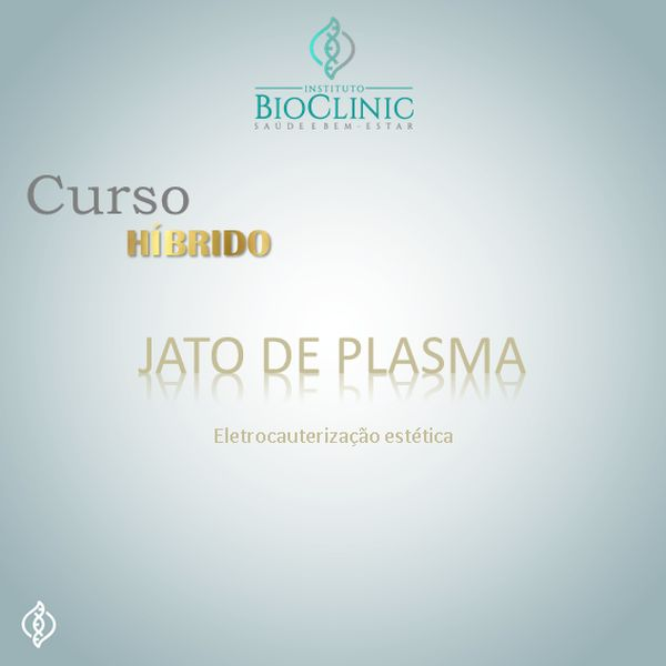 Imagem principal do produto Curso Jato de Plasma (Eletrocauterização estética) - Híbrido