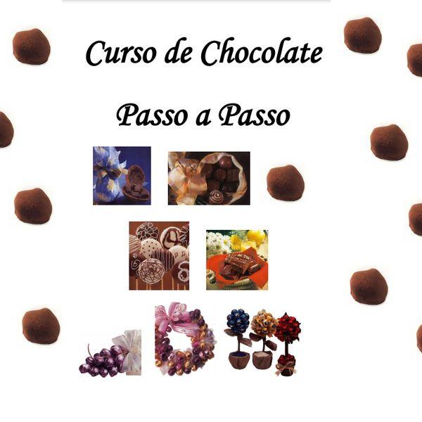 Imagem principal do produto Curso de Chocolate  Passo a Passo
