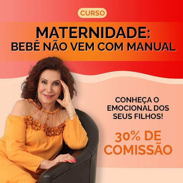 Imagem principal do produto Curso de Maternidade: Bebê não vem com manual