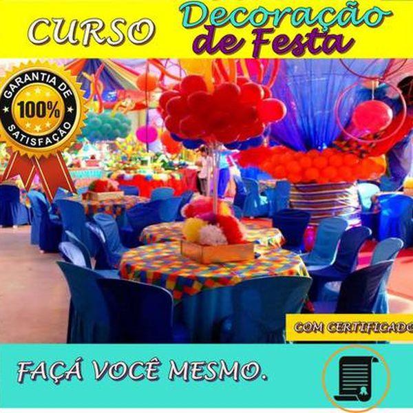 Imagem principal do produto CURSO DECORAÇÃO DE FESTAS- COM CERTIFICADO