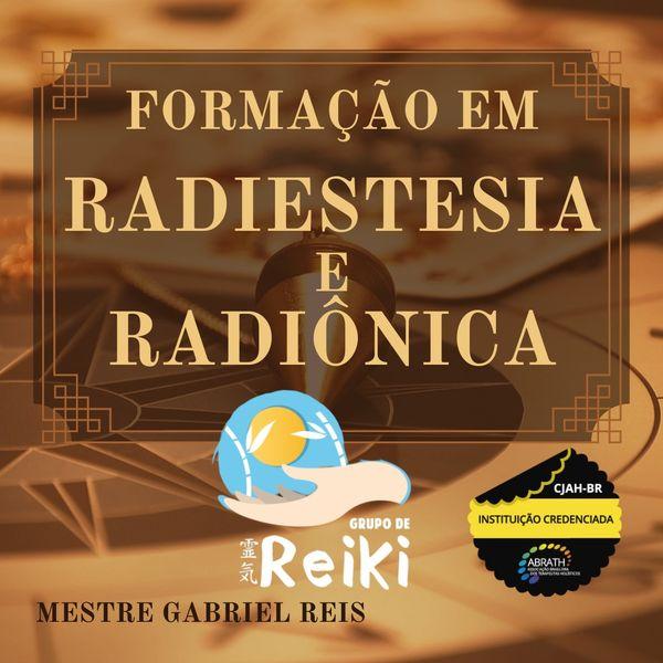 Imagem principal do produto Formação Completa de Radiestesia