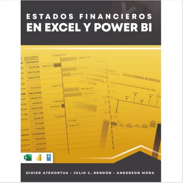 Imagem principal do produto Estados financieros en Excel y Power BI