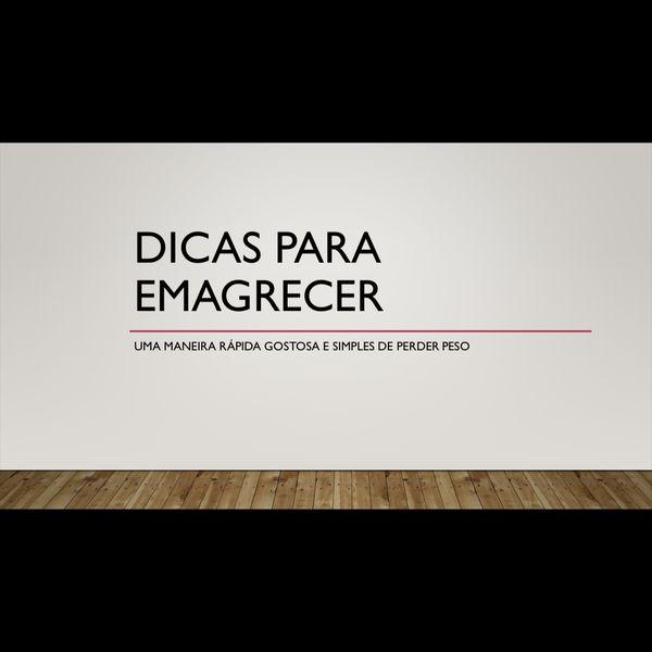 Imagem principal do produto Dicas para emagrecer