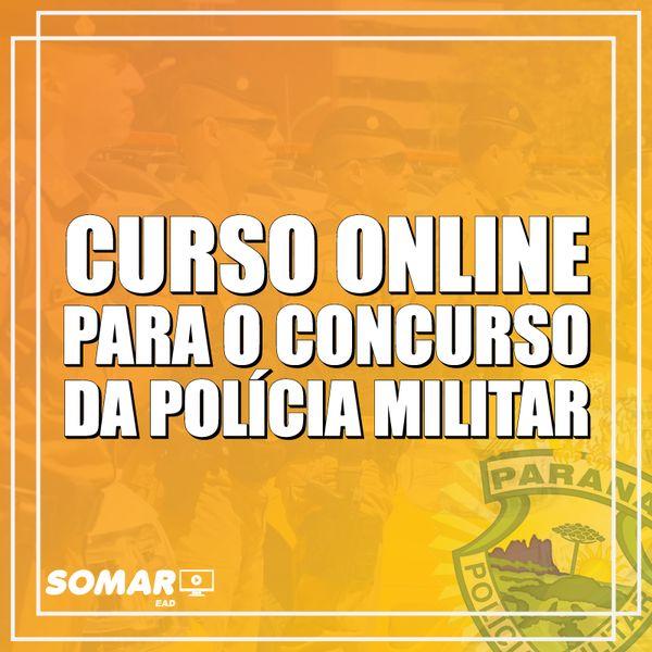 Imagem principal do produto Curso Online para o Concurso da Polícia Militar