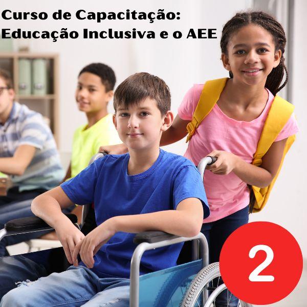 Imagem principal do produto Curso de Capacitação: Educação Inclusiva e o AEE (Certificado Digital)