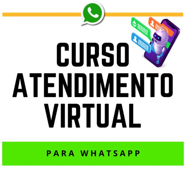 Imagem principal do produto Curso Atendimento Virtual para WhatsApp
