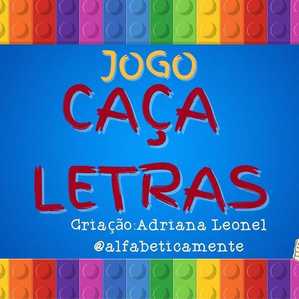 Imagem principal do produto JOGO CAÇA-LETRAS