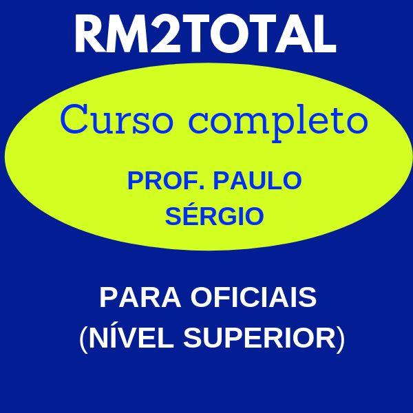 Imagem principal do produto Curso RM2TOTAL (Curso Completo para o Concurso de Oficiais RM2 da Marinha).