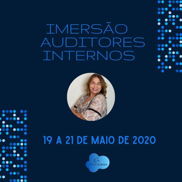 Imagem principal do produto IMERSÃO FORMAÇÃO DE AUDITORES - ONLINE E AO VIVO