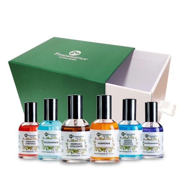 Imagem principal do produto Kit 6 Sprays + Brinde (Caixa)