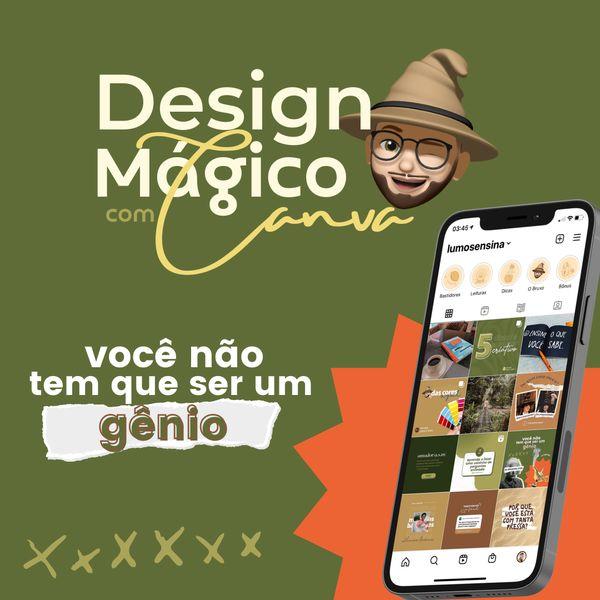 Imagem principal do produto Design Mágico com o Canva