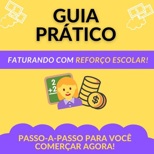 Imagem principal do produto Guia Prático - Faturando com Reforço Escolar