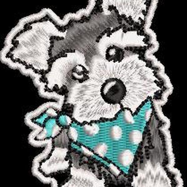 Imagem principal do produto Diseño de bordado Perro para bordar en maquinas domesticas o industriales.