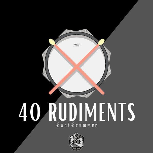 Imagem principal do produto 40 Rudiments for its evolution