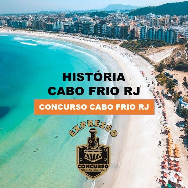 Imagem principal do produto Concurso Cabo frio - História do Município de Cabo Frio