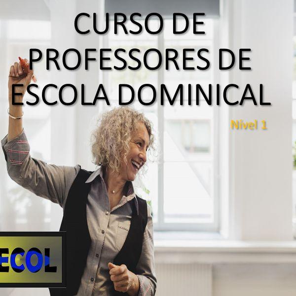 Imagem principal do produto Curso de Professores de Escola Dominical